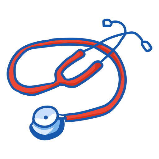 Nurse equipment stethoscope color