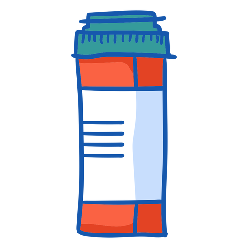 Nurse equipment tablet bottle color