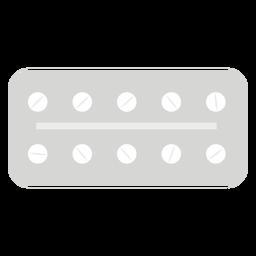 Pharmacy blister flat