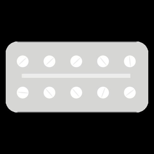 Blister de farmacia plana