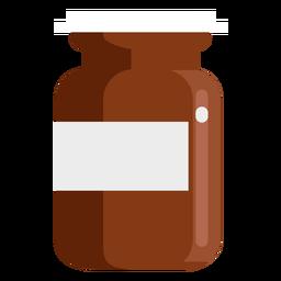 Farmacia contenedor plano