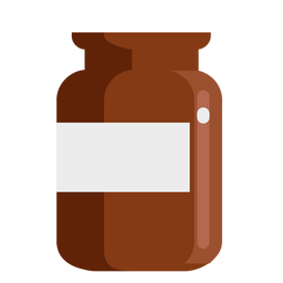 Pharmacy container flat