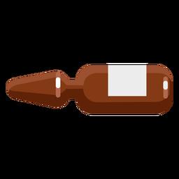 Farmacia frasco cono spray plano