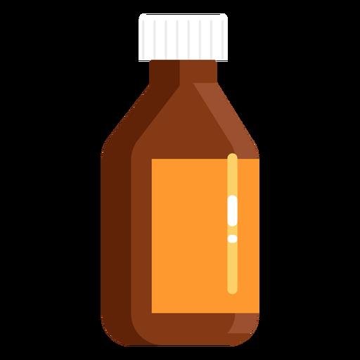 Farmacia tarro naranja plana Transparent PNG