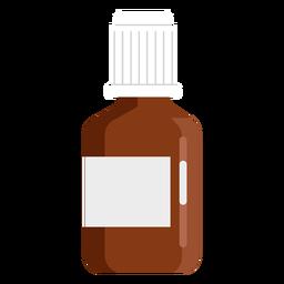 Farmacia pequeña jarra plana