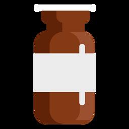 Pharmacy tablets jar flat