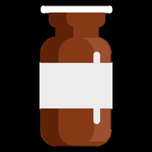 Farmacia tabletas tarro plano Transparent PNG