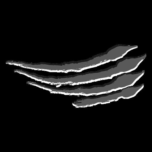 Scratch claw monochrome