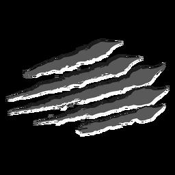 Scratch horizontal monocromo