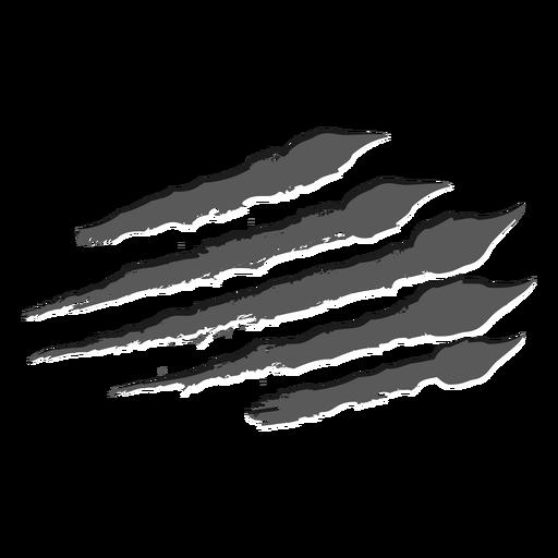 Scratch horizontal monochrome