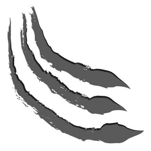 Scratch realistic monochrome
