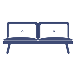 Sofa furniture monochrome