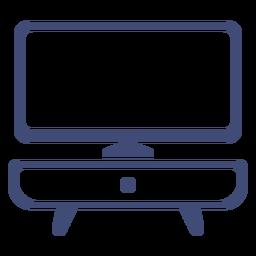 Mueble TV monocromo