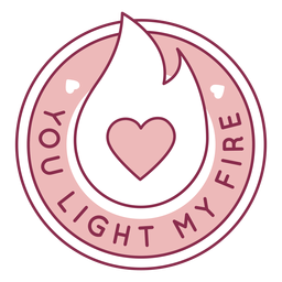 You light fire badge