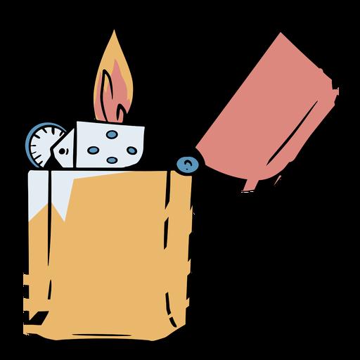 Ilustración de Zippo Transparent PNG