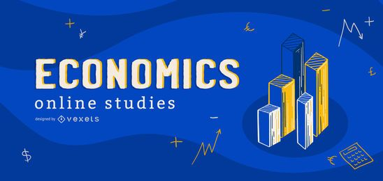 Economics online studies cover design