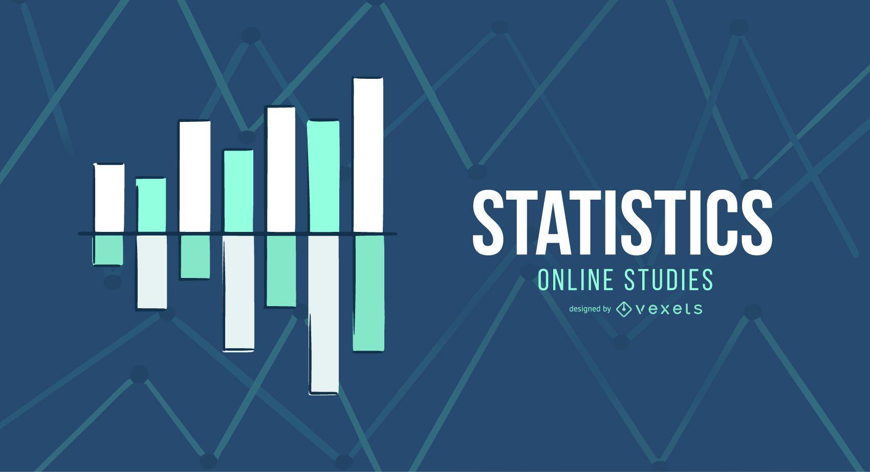 Statistics online studies cover design