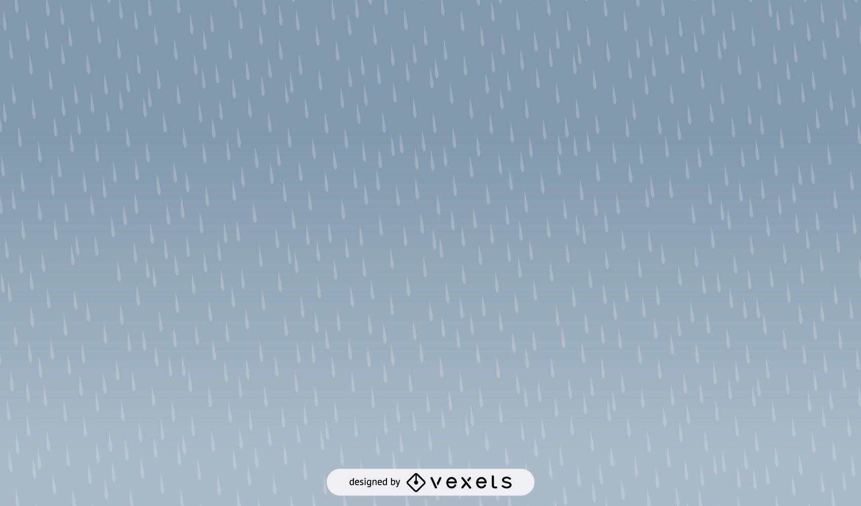 Diseño de patrón de lluvia simple