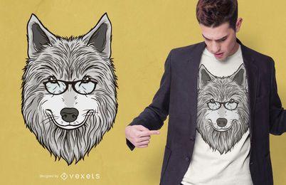 Wolf Papa T-Shirt Design