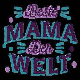 Beste mama der volte letras alemanas