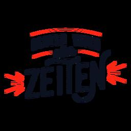 Bester vater aller zeitjen german lettering