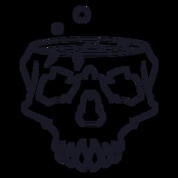 Brewing skull stroke