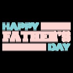 Letras fofas e felizes do dia dos pais