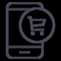 Ícone de notificação do aplicativo de entrega