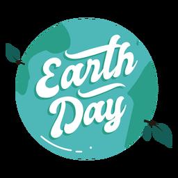 Tag der Erde Abzeichen