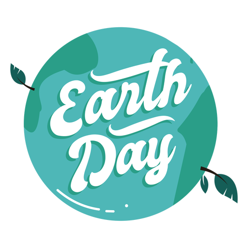 Earth day badge