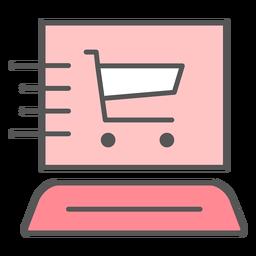 Ícone de web de entrega rápida