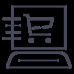 Web de entrega rápida icono web de entrega rápida