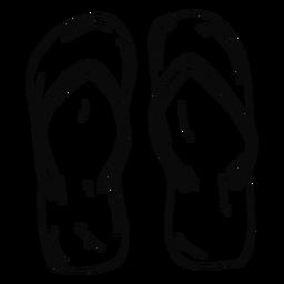 Flip flops stroke