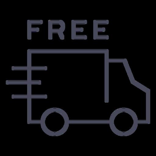 Icono de envío gratuito