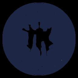 Funny graduation badge