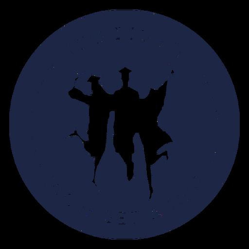 Insignia de graduación divertida