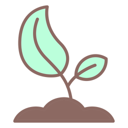 Growing seed icon