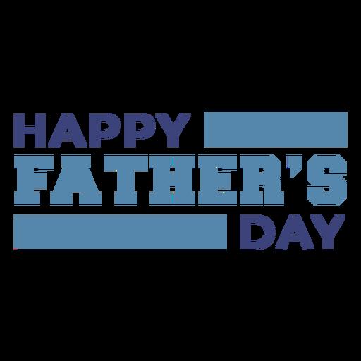 Letras del día de padres feliz Transparent PNG