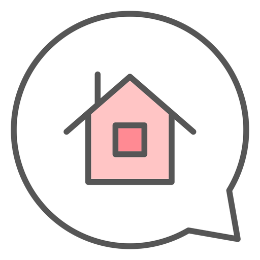 Casa en burbuja de conversación