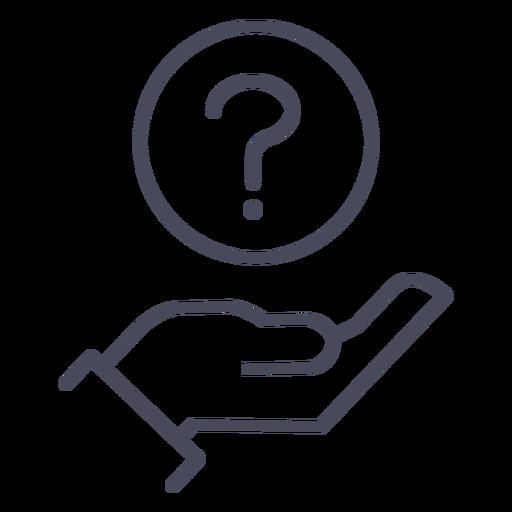 Ícone de serviço de informações - Baixar PNG/SVG Transparente