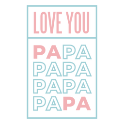 Te amo papai onesie letras