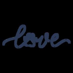 Letras de pata de cachorro amor