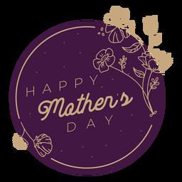 Insignia del dia de las madres dia de las madres