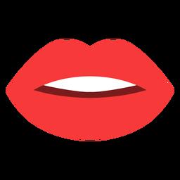Mouth flat