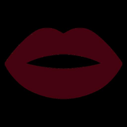 Silueta de la boca
