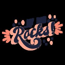 Mi papá mece las letras del día del padre