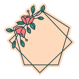 Marco floral del Pentágono