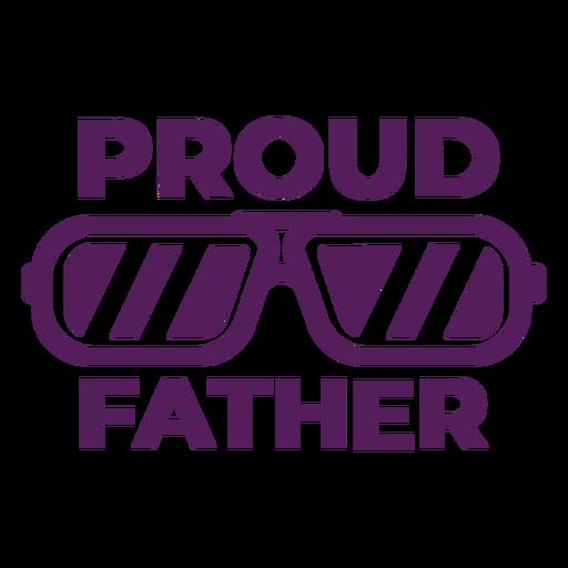 Orgulloso padre letras