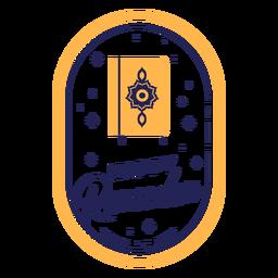 Quran ramadan badge