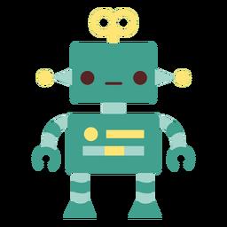 Robô de brinquedo plano